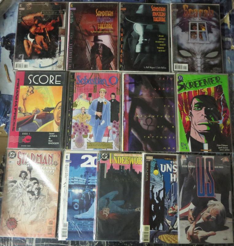 Vertigo/DC 13 complete story arcs 56 comics Sandman Gaiman, Morrison, Robinson