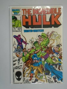 Incredible Hulk #321 Direct edition 6.0 FN (1986 1st Series)