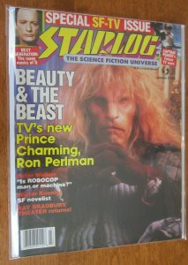 Starlog #128 Beauty and the Beast 8.0 VF (1988)