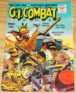G.I. Combat #24 FN- may 1955 - quality comics - golden age war