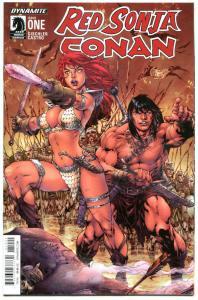 RED SONJA CONAN #1 2 3 4, NM, Robert E Howard, Castro, 2015, more in our store