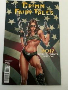 GRIMM FAIRY TALES 2017 ARMED FORCES EDITION SET OF TWO COVERS NM.