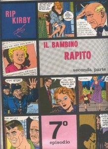 Rip Kirby de Alex Raymond numero 07: Il bambino rapito, seconda parte
