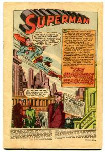 Superman #92 1954- -Jimmy Olsen #1 ad- Coverless reading copy