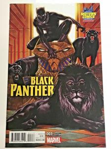 BLACK PANTHER#1 NM 2016 MIDTOWN VARIANT MARVEL COMICS