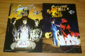Cyclone Bill and the Tall Tales #1-2 VF/NM complete series - dan dougherty set