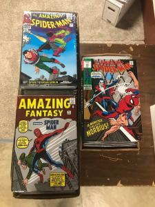 Amazing Spider-man 1-545 (AmF15 Asm1-142 Omnibus Vol 1-4) Few Missing