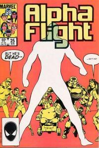 Alpha Flight (1983 series) #25, VF+ (Stock photo)