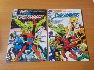 X-Men Spotlight : Starjammers 1-2 Complete Set Run! ~ NEAR MINT NM ~ 1990 Marvel