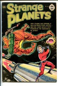 STRANGE PLANETS #12-1963-JOE ORLANDO ART-CLASSIC SCI-FI-good