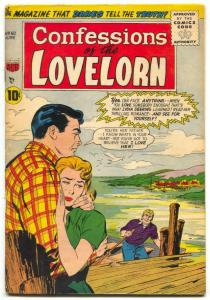 Confessions of The Lovelorn #60 1955- ACG Romance VG+