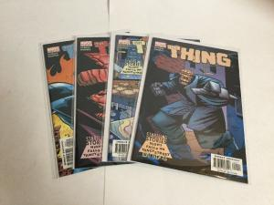 The Thing Night Falls On Yancy Street 1-4 Lot Set Run Nm Near Mint