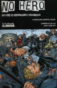 No Hero #0 (wrap) VF/NM; Avatar   save on shipping - details inside