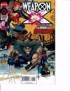 Lot Of 2 Marvel Comic Books X-Men #38 and Weapon X #1 Ironman  ON5