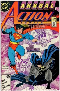 ACTION COMICS Annual #1 (VF/NM) 1¢ Auction! No Resv! See More!!!