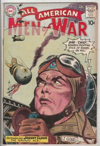 All-American Men of War #82 (Dec-60) VF+ High-Grade Johnny Cloud