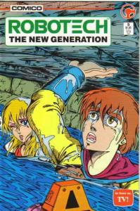 Robotech: The New Generation #5 VF/NM; COMICO | save on shipping - details insid