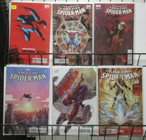 Amazing Spider-Man Variant Lot of 6Diff from #17-22 (Marvel 2016) Cho Bianchi ++