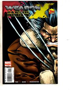 11 Marvel Comics Weapon X Days # 1 2 3 4 5 + Super Soldiers # 1 2 3 4 5 6 CR59