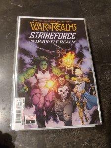 War of the Realms Strikeforce: The Dark Elf Realm #1 (2019)