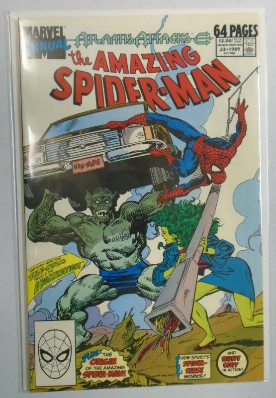 Amazing Spider-Man (1st Series) Annual #23, 6.0/FN (1989)
