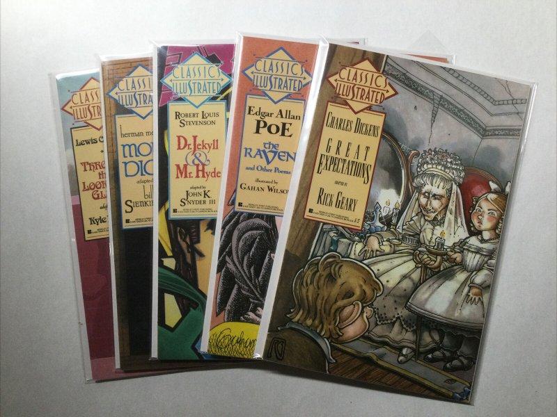 Classic Illustrated 5 Issue Lot Run Set Near Mint Nm Berkley First Publishing