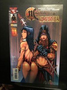 The Magdalena/Vampirella #1 (2004) wow! Rear Topcow  crossover issue key! NM-