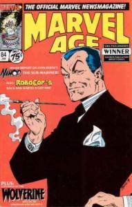 Marvel Age #84, NM- (Stock photo)