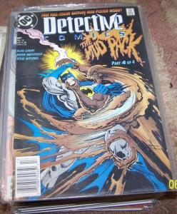 Detective Comics # 607 (Oct 1989, DC) the mud pack pr 4 clayface