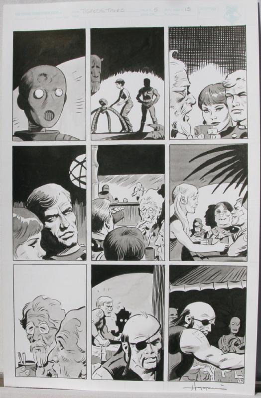 TIGRESS TALES #5 Original Mike Hoffman art, Page #13, Signed, published