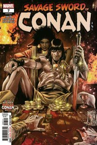 Savage Sword of Conan (2019 series) #7, NM + (Stock photo)