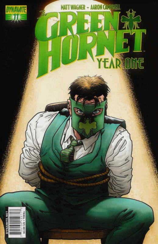 Green Hornet: Year One #11A FN; Dynamite | save on shipping - details inside