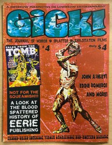 GICK! the Journal of Horror, Splatter & Exploitation films #4  VF-NM