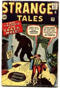 STRANGE TALES #100 1962-ATLAS-JACK KIRBY-DON HECK-STEVE DITKO-vg