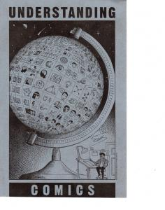 Understanding Comics Black on Blue Poster Signed by Scott McCloud