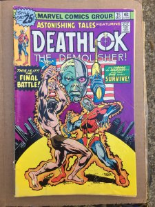 Astonishing Tales #35 Deathlok