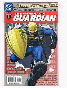 The Manhattan Guardian #1 NM DC Comics Comic Book Morrison May 2005 DE43 TW14