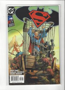 Superman/Batman #16 DC Comics  Carlos Pacheco Art Kamandi NM