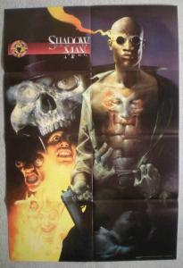 SHADOW MAN Promo poster, 20 x 30, 1996, Unused, more in our store