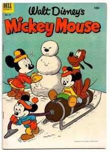 MICKEY MOUSE #29 • Feb 1953 * Dell Comics * 4.5 VG+ • Tony Strobl Main Story