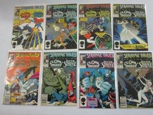 Strange Tales Comic Lot (2nd Series) #1 -19 (16 DIFF) - 6.0 FN (1987 - 1988)