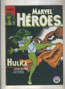 Marvel Heroes numero 37: Hulka (numerado 3 en trasera)