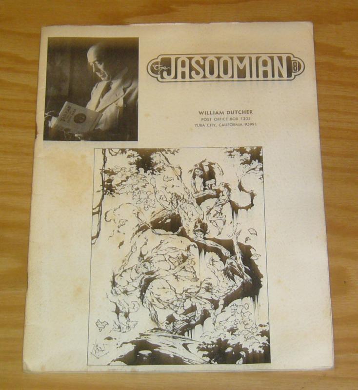 Jasoomian #8 FN edgar rice burroughs fanzine 1972 tarzan