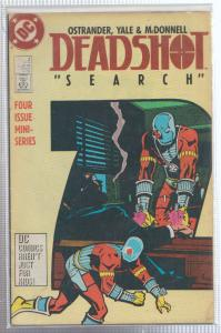 DEADSHOT #2 - 1988 SEARCH  BAGGED & BOARDED - DC COMICS
