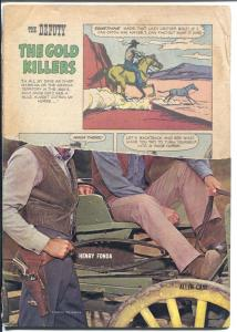 Deputy-Four Color Comics #1130 1960-Dell-Henry Fonda photo cover-P