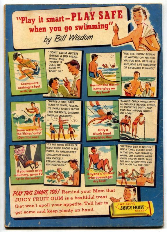 The Flying A's Range Rider #15 1956- Dell Western- Jock Mahoney VG+