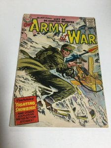 Our Army At War 58 Gd Good 2.0 Water Damage DC Comics Silver Age