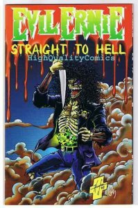EVIL ERNIE ; STRAIGHT to HELL Ashcan Preview, NM+, 1995, more EE in our store