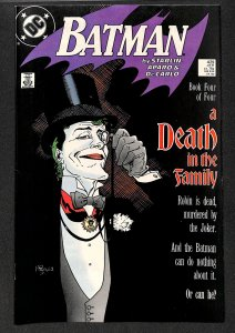 Batman #429 VF- 7.5 Death in the Family! Joker Cover!