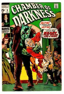 CHAMBER OF CHILLS SPECIAL #8 comic book-1970-MARVEL HORROR VG/FN